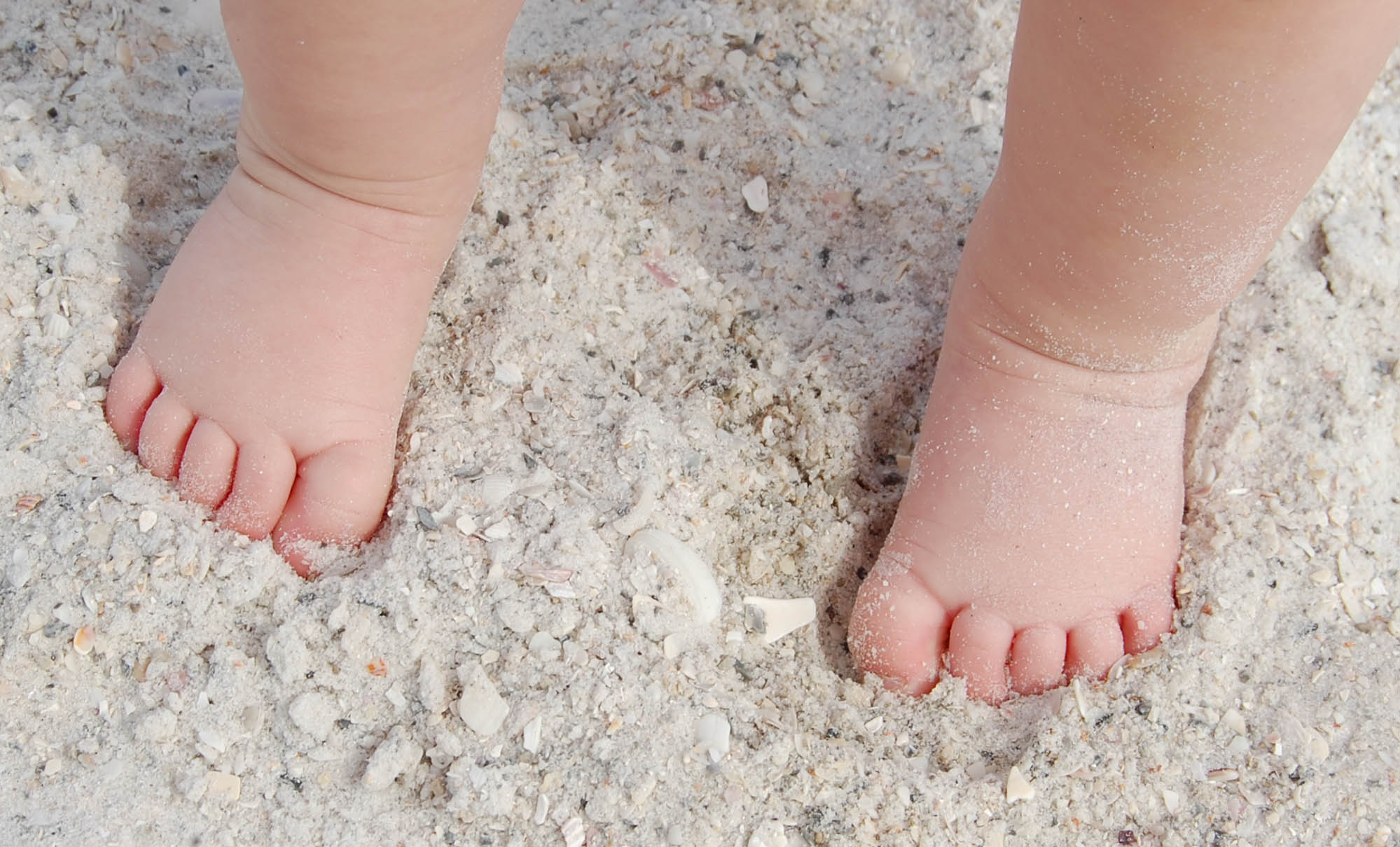 Tiny Feet In the Sand
