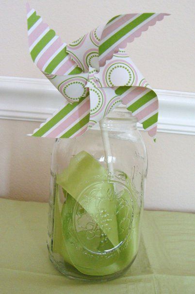pinwheel decoration for first birthday party