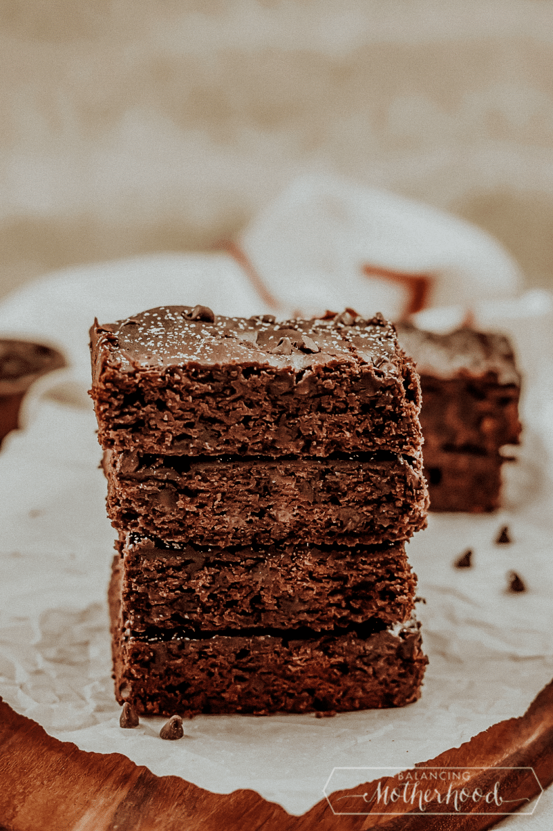 Indulge yourself today with these moist and flavorful black bean brownies.