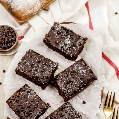 Amazing Black Bean Brownies