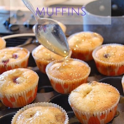 Delicous blueberry pancake muffin recipe