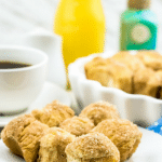 baked cinnamon donut holes recipe