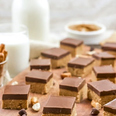 Simple No Bake Peanut Butter Bars