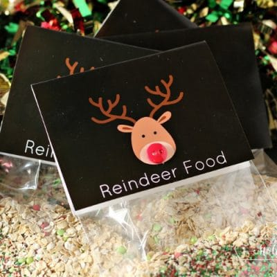 Reindeer Food Recipe and Printable