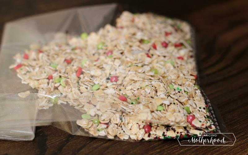 oats in baggie