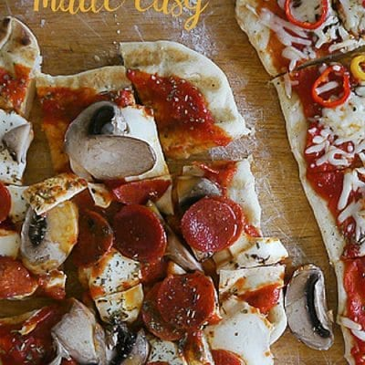 Learn how to make grilled pizza
