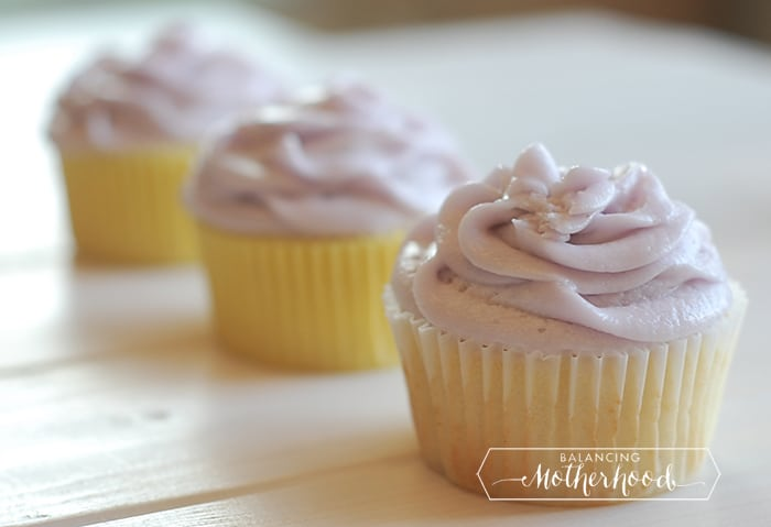 lemon cupcakes with lavender buttercream recipe