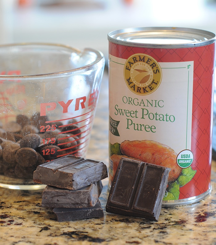 sweet potato frosting ingredients