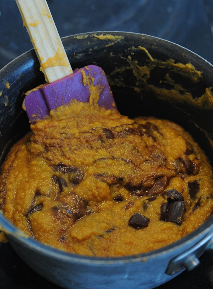 sweet potato frosting