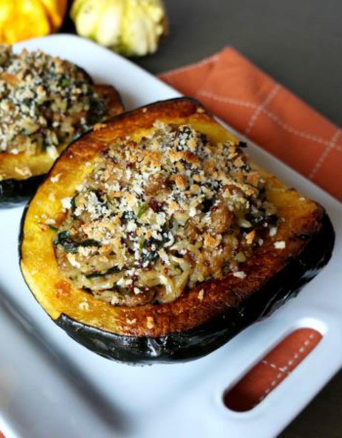 acorn squash side dish
