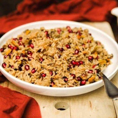 Thanksgiving rice