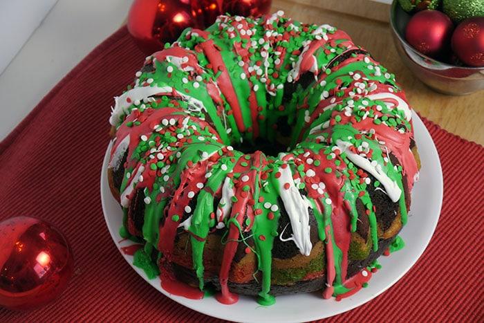 Christmas bundt cake recipe