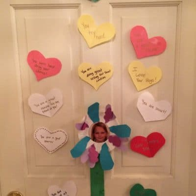 Valentine's Day Messages for Kid's Lunch boxes and Bedroom Doors