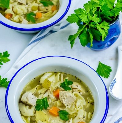 Get the healing that your body deserves with this healthy Instant Pot Chicken Noodle Soup.