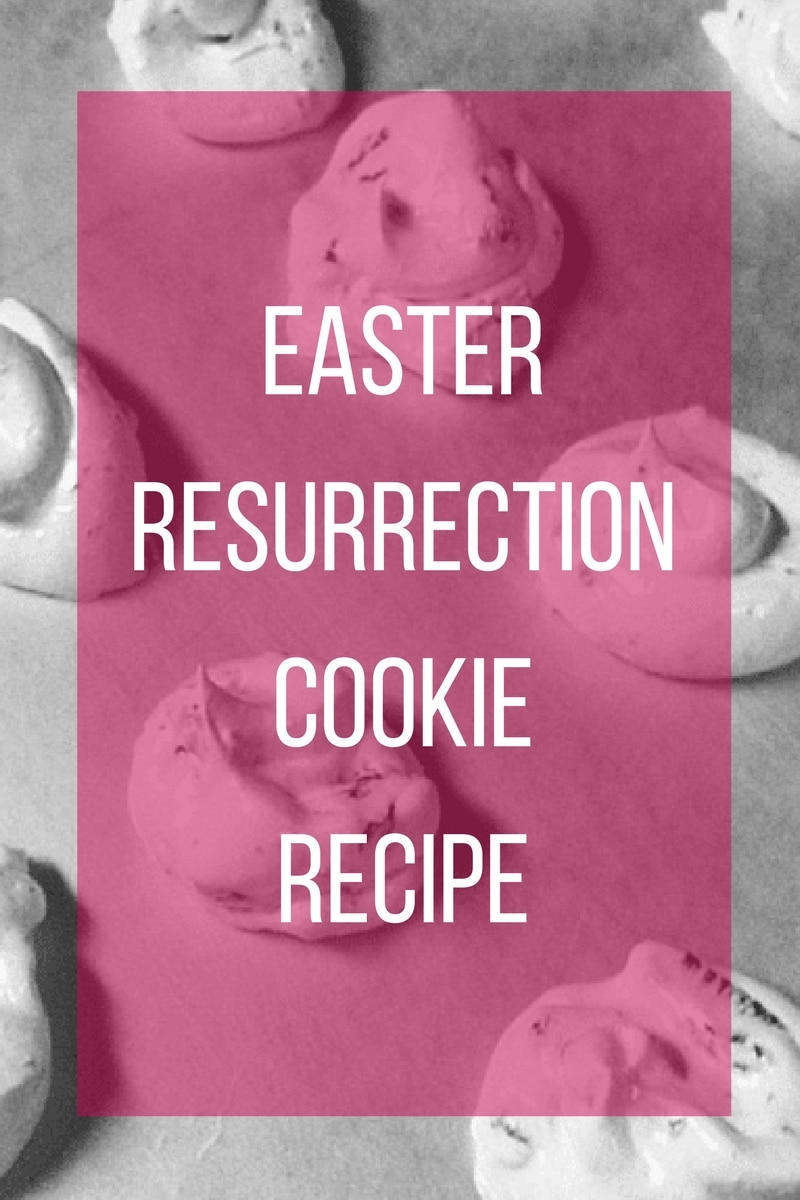 Easter resurrection cookies