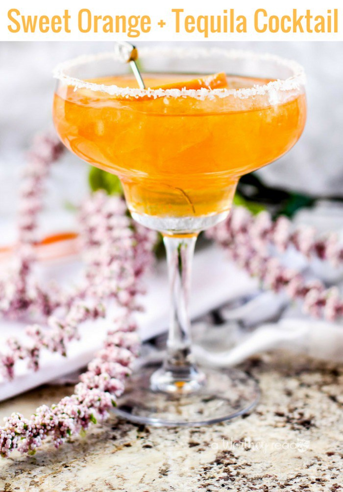 orange Cinco de Mayo drink and cocktail