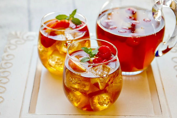 sweet tea sangria Cinco de Mayo drink