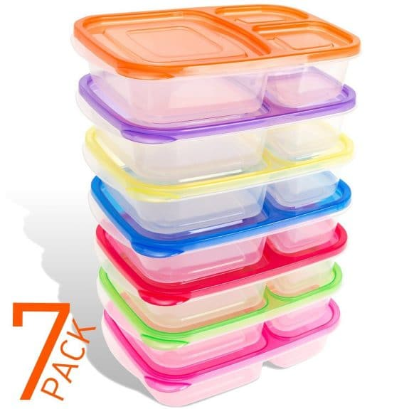 leakproof lunchbox in rainbow colors