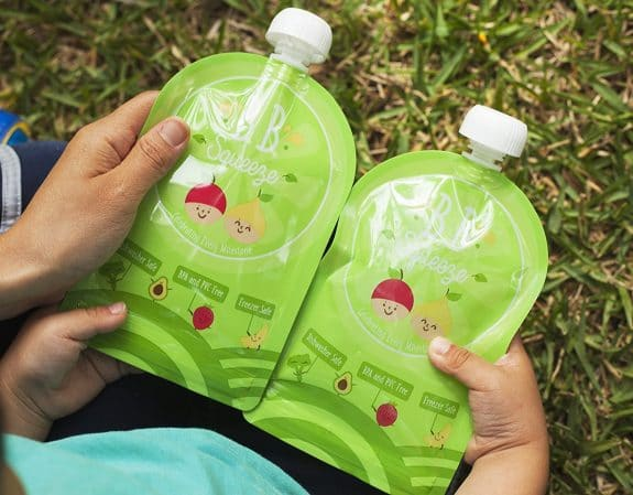 refillable food pouch