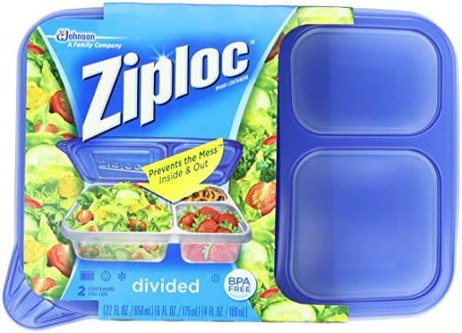 ziploc leakproof lunchbox