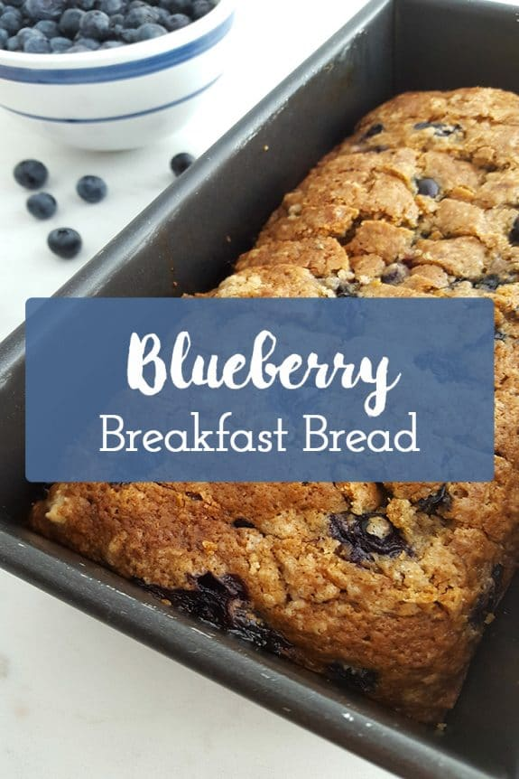 Blueberry Breakfast Bread Pinterest