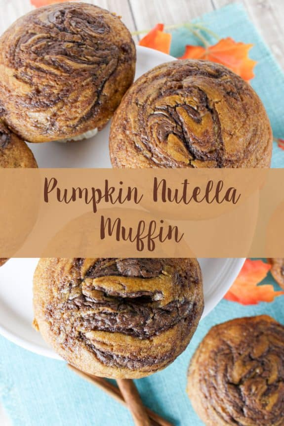 Pumpkin Nutella Muffin Pinterest