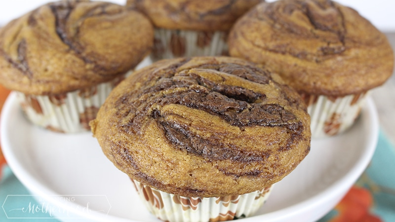 Pumpkin Nutella Muffin 5
