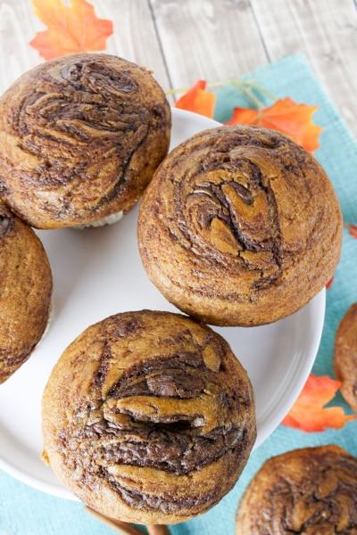 Pumpkin Nutella Muffin Featured Image