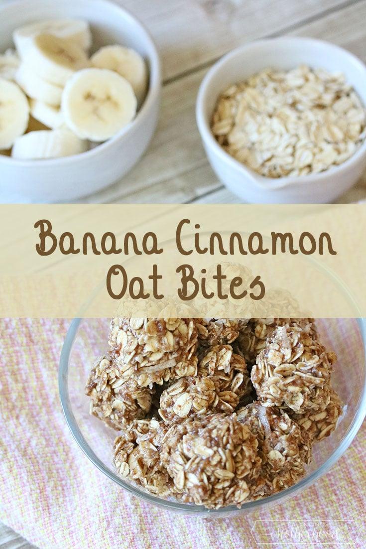 banana cinnamon oat bites