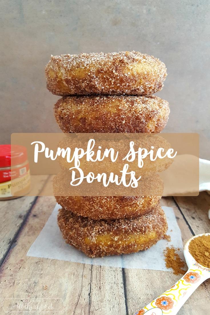 Pumpkin Spice Donuts Pinterest