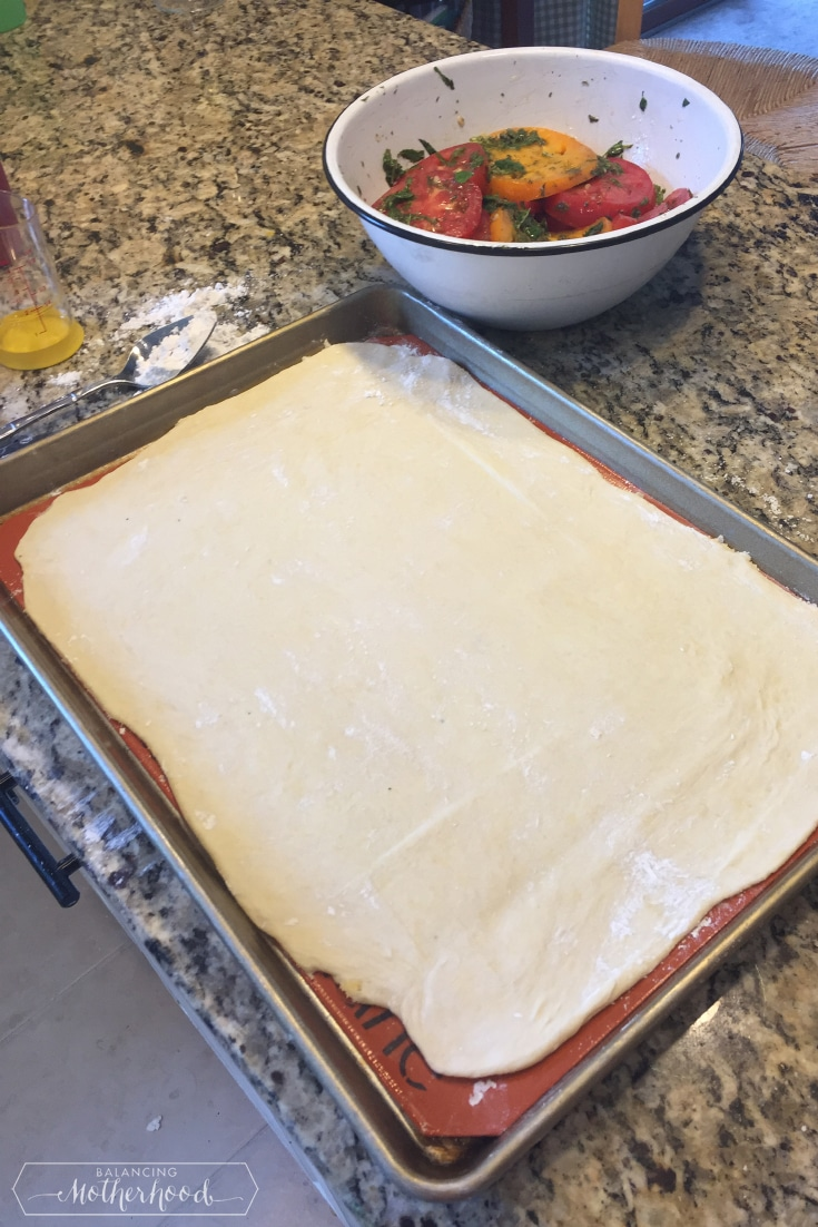 Tomato Tart Prep 2