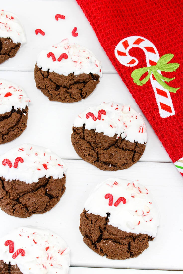 Chewy Chocolate Peppermint Cookies Final 2