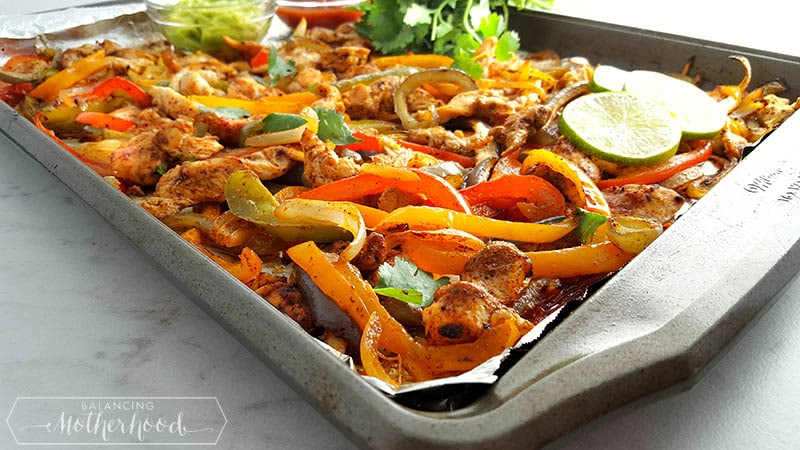 Sheet Pan Fajitas Final