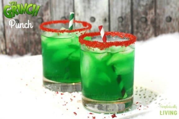 Grinch punch mocktail