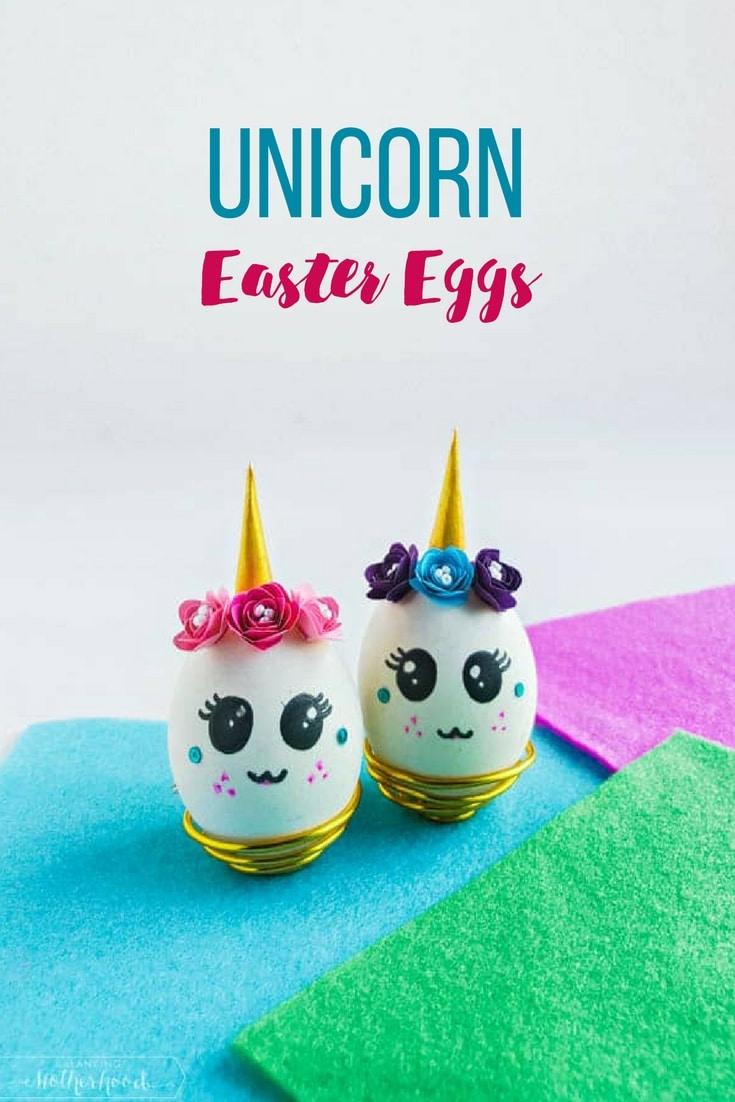 Unicorn Easter egg tutorial