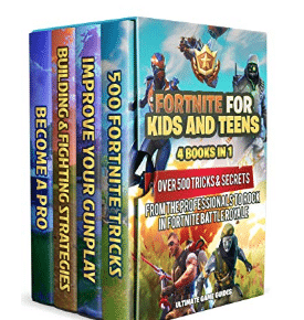 Fortnite tips and tricks set of books