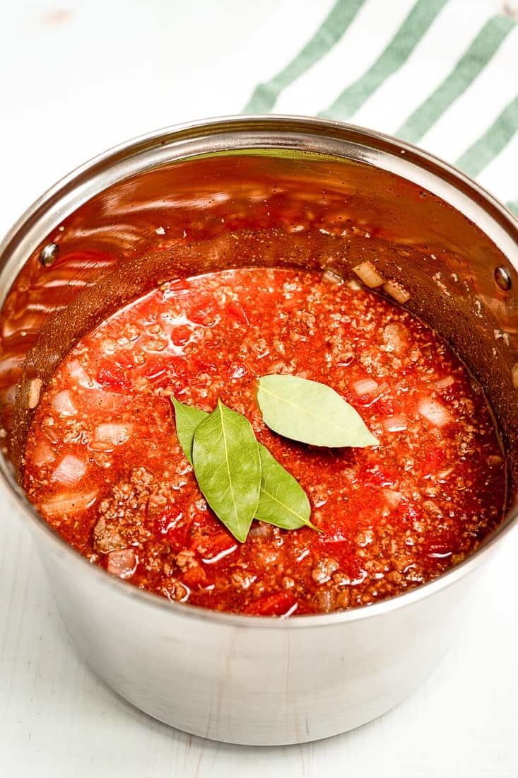 Sauce of the Goulash recipe