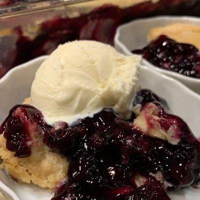 Blueberry Dump Cake