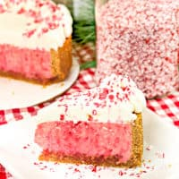 Are you a cheese lover? This creamy and rich Instant Pot Candy Cane Cheesecake! is a must try for the holiday season!