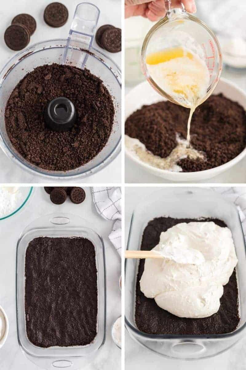 making oreo cookie crust