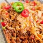 scoop of Frito casserole