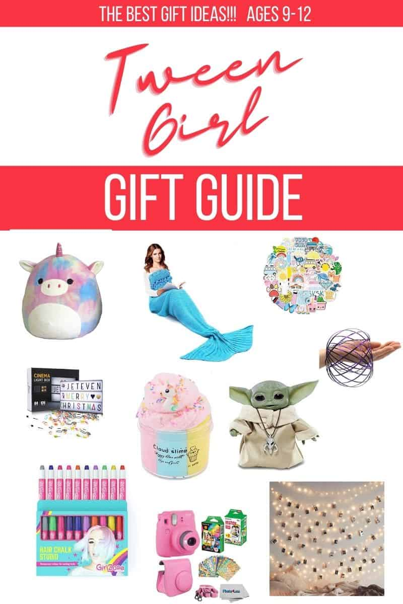 Amazing and fun gifts for tween girls! Having a hard time finding something for your tween that isn't something for a smart phone? Try this list of creative and fun (and what tweens actually want!) gift ideas.