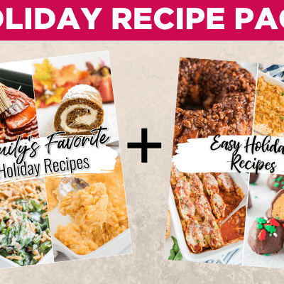 Holiday Recipe Pack!